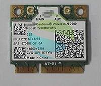 Wireless N-2200 2200BN 2200BNHMW Half Mini PCI-e Wireless Wifi Wlan Card FRU:60Y3295 for G480 G485 G580 G585 G780