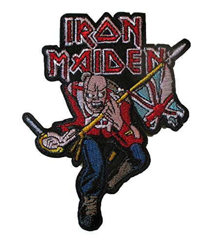 Hotrodspirit – Parche Grupo Iron Maiden The Trooper