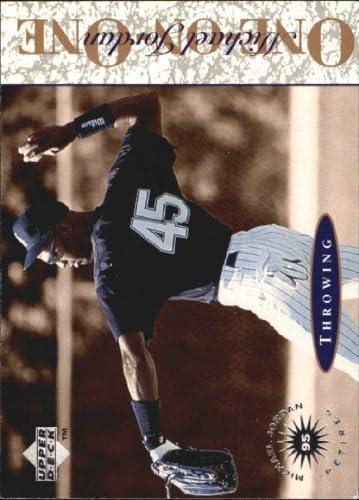 1995 Upper Deck Minors Michael Jordan Jord Max 55% 5 ☆ very popular OFF On One #1
