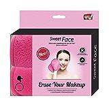 Serviettes démaquillantes Sweet Face, réutilisables et lavables, nettoient les pores et enlèvent le maquillage, lingettes douces