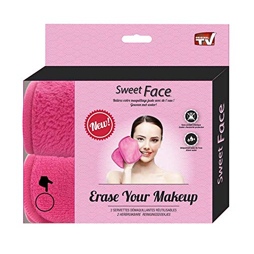 Gesichtsreinigungstücher Mikrofaser | Make Up Eraser | Abschminktücher Mikrofaser Set | Abschminken und Reinigen (2er Set) … B01HZ8SGGY