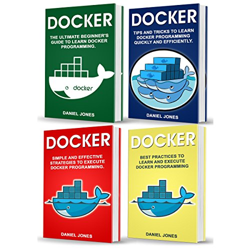 Docker: 4 Books in 1 cover art