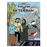 Die Abenteuer von Tim und Struppi in Teheran Poster Vintage