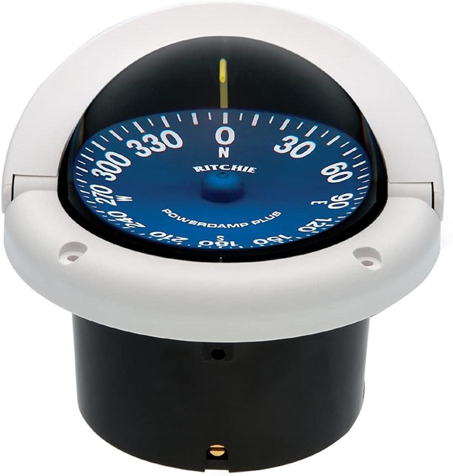 Ritchie Navigation SS-1002W Supersport Whit Philadelphia Mall Compass Flush online shop Mount