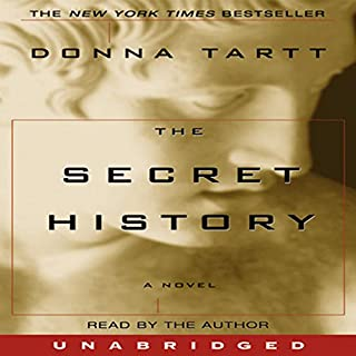 The Secret History audiobook cover art