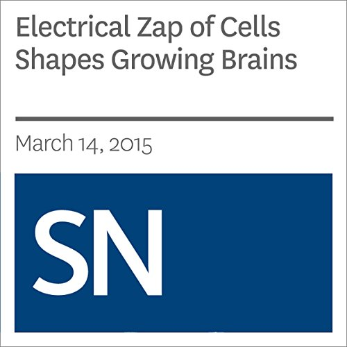 Electrical Zap of Cells Shapes Growing Brains audiobook cover art