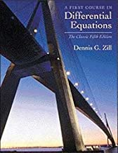 A First Course in Differential Equations: The Classic Fifth Edition (Classic Edition)