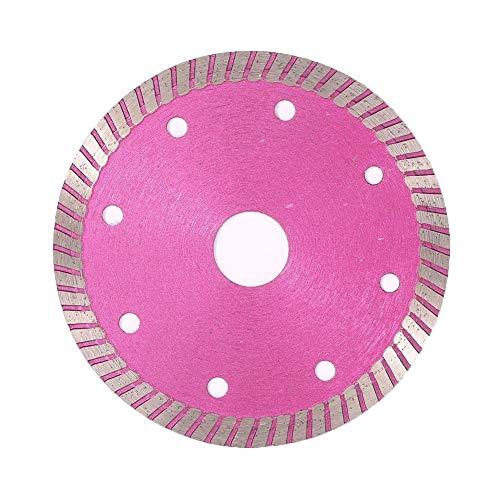 GYW-YW Saw Blade, Las Hojas de Diamante de Sierra Circulares de rotación de Disco y baldosas de Piedra cerámica y baldosas de mármol Cortador for Cortar el Agente de unión (Color : Pink)