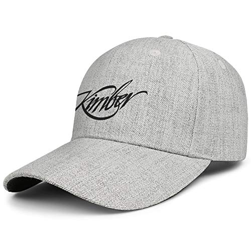 Unisex Best Fashion Baseball Caps Kimber-Sniper-Rifle-Firearms-Gun- Dad Adjustable Vintage Hats Styles Personalized