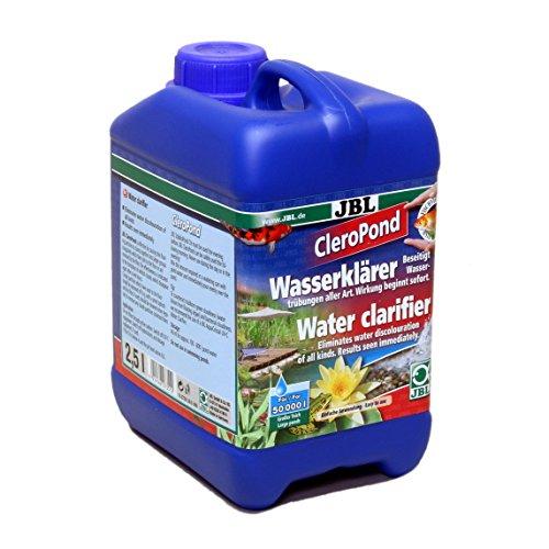 JBL CleroPond 2,5l, Conditionneur d'eau pour l'élimination de la turbidité de l'eau