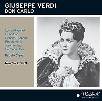 Verdi: Don Carlo (Recorded Live 1959)