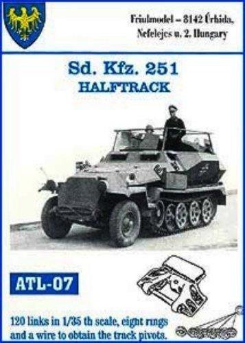 Friulmodel 1/35 Sdkfz 251 halftrack metal track