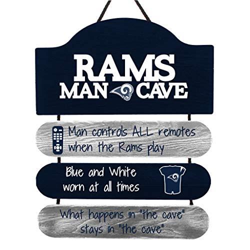 NFL Man Cave Wall Sign (Many Teams)