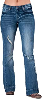 Cowgirl Tuff Ripped Trouser Jean