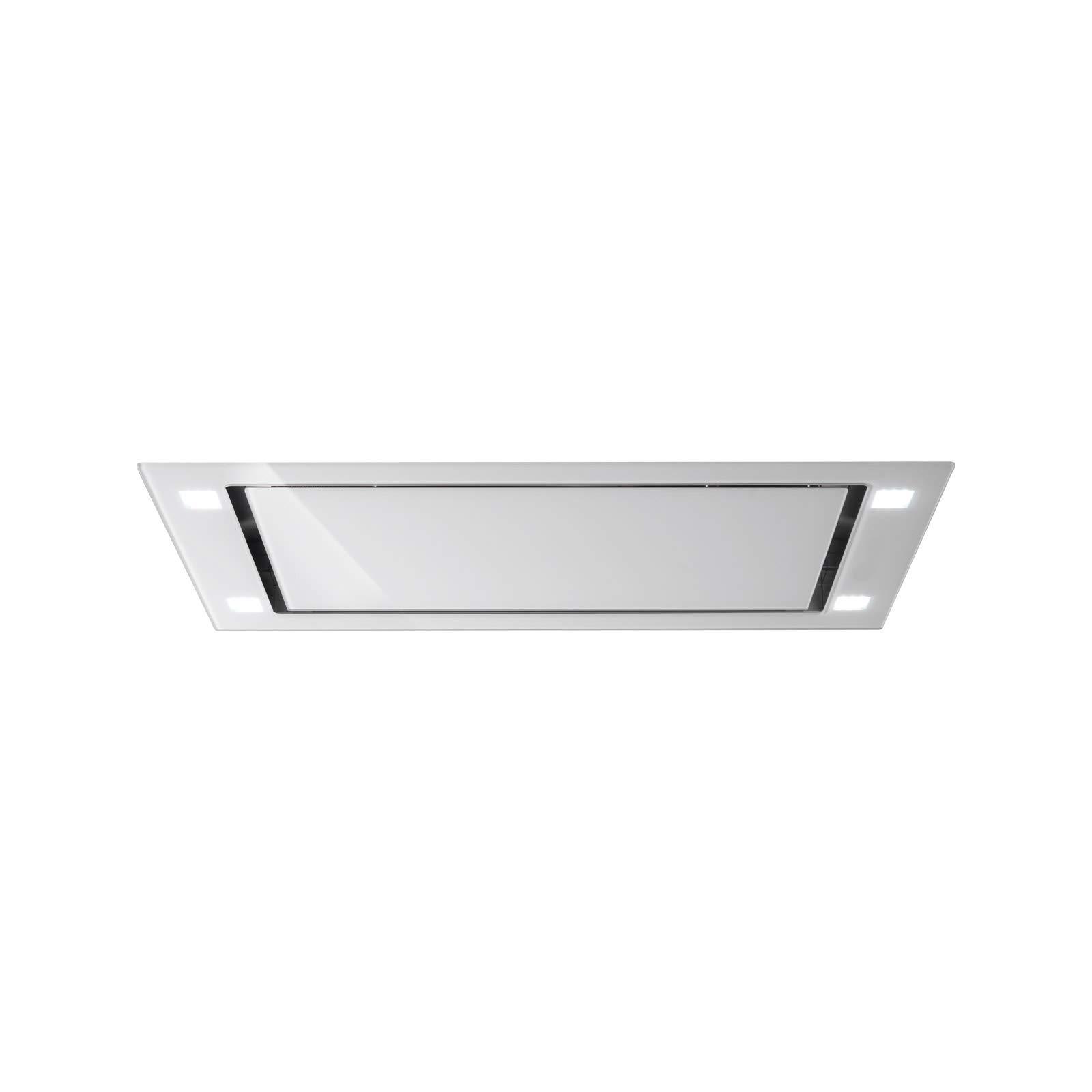 Falmec Campana extractora de techo Sirio acabado blanco de 90 cm: Amazon.es: Hogar