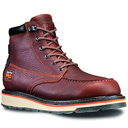 Timberland PRO Men's Gridworks Moc Soft Toe Waterproof Industrial Boot, Brown, 10 M US