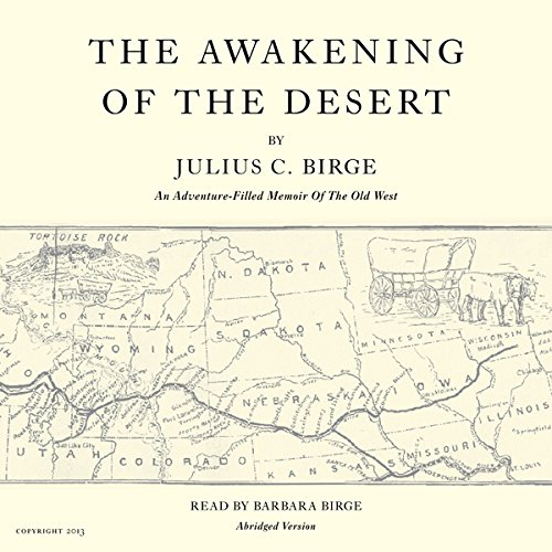The Awakening of the Desert audiobook cover art