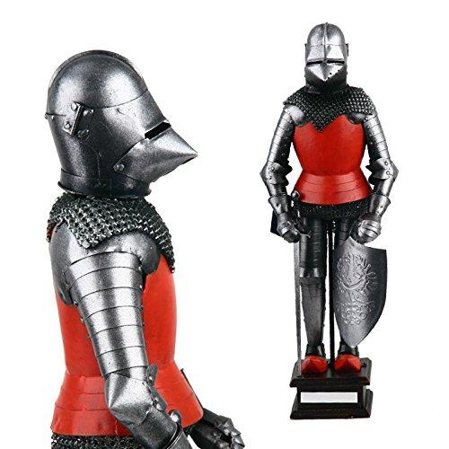 medieval crusader knight armour mini