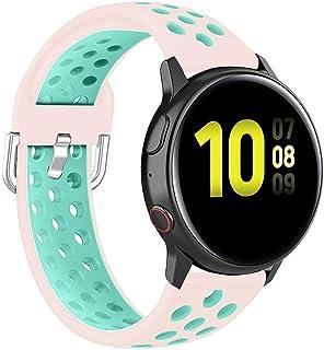 Cinturino da Polso da Uomo smartwatch in Gomma siliconica per Suunto M1 M2 M4 M5 Rosilesi Cinturino da Polso Rock Green