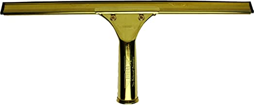 Ettore 10014 ProSeries Brass Squeegee, 14-Inch