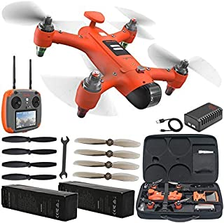 SwellPro Spry Waterproof Action Sport Drone with Essential Accessory Bundle – Includes: Manufacturer Accessories + Spare Battery + Extra Set of Propellers