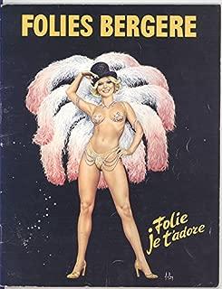 Folies Bergere Program 1977 (Paris)