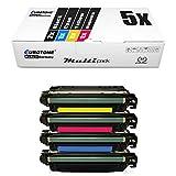5x Müller Printware Remanufactured cartuccia del toner per HP LaserJet Enterprise 700 Color MFP M 775 z plus sostituisce CE340A-43A 651A