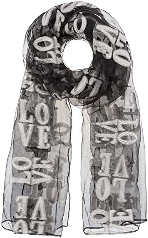 Max 52% Max 40% OFF OFF Ganz Love Scarf - and White Black
