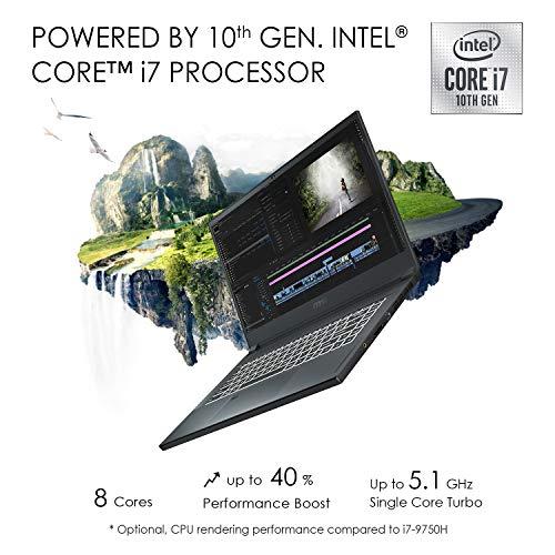 MSI Creator 15 Professional Laptop: 15.6