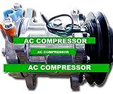 GOWE AC Compressor for SANDEN 7H15 AC Compressor for EXCAVATOR 1B 24V