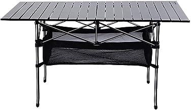 DX Folding Camping Table, Outdoor aluminium opklapbare picknicktafel draagbare hoogte kan worden verhoogd en verlaagd met ...