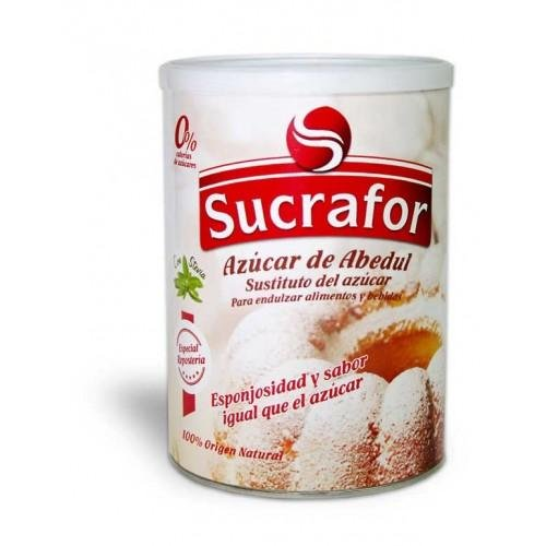 Sucrafor azúcar de abedúl con stevia orgánica 500 g