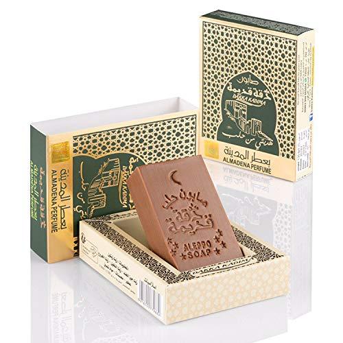 Dakka Kadima  Jabón original de Alepo Edición Premium (Todo el perfume de Maddena)