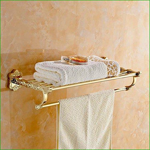 Juego de colgantes de hardware de baño tallada toallero toallero barra de toalla titular de papel higiénico cepillo titular A