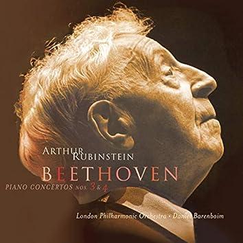 Rubinstein Collection, Vol. 78: Beethoven: Piano Concertos Nos. 3 and 4