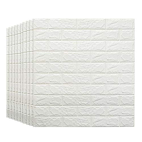 KUNYI DIY Ziegelmauer Aufkleber Dickere Self Adhesive Wallpaper Verkleidungs-Wand-wasserdichte PE-Schaum-Wand-Dekoration (Size : 15 Pack)