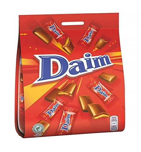 Marabou Daim - Original Schwedisch Milchschokolade Süßigkeiten 200g