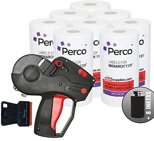 Monarch 1131 Pistola de precios con etiquetas: incluye pistola de precios Monarch 1131, 160.000 etiquetas blancas para marcar precios