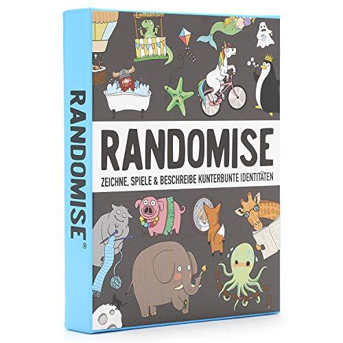 Gamely Games Randomise: Zeichne, Spiele und beschreibe kunterbunte Identitäten (Deutsch)