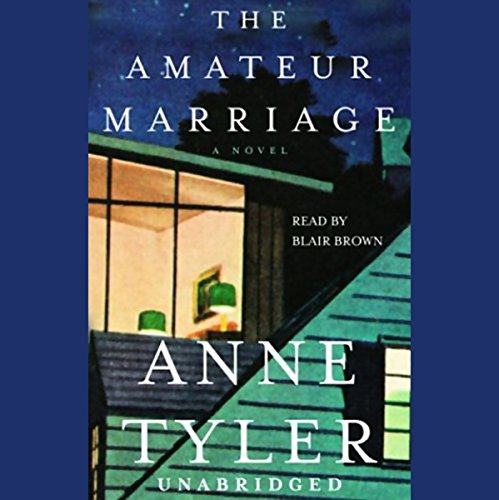The Amateur Marriage audiobook cover art