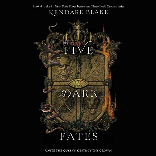 Five Dark Fates audiobook cover art