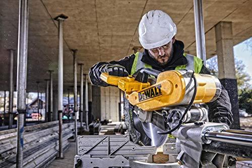 DeWalt Paneelsäge 1675W DWS780 inkl. Zubehör – Mit 305×30 mm HM-Sägeblatt ideal für den Innenausbau – Hohe Schnittkapazität & LED Schnittlinien Anzeige - 12