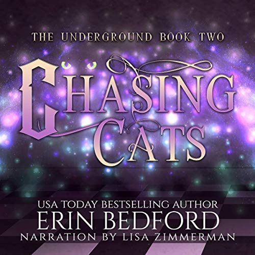 Chasing Cats audiobook cover art