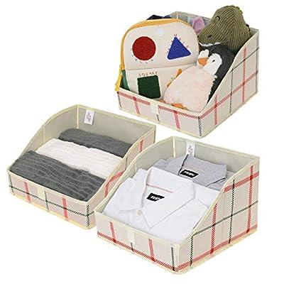 GRANNY SAYS Trapezoid Bin Closet Boxes Storage Bins