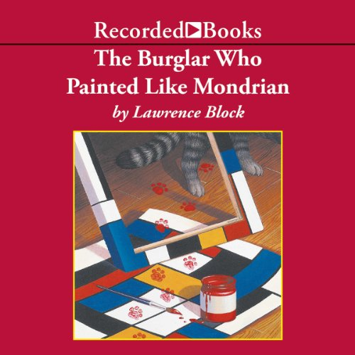 The Burglar Who Painted Like Mondrian audiobook cover art