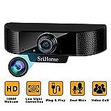 ENONEO Webcam 1080P HD Webcam PC...