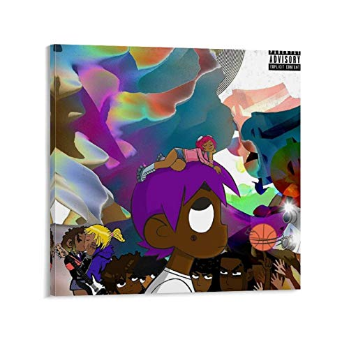 Póster artístico de la película A Rapper Hip Hop Lil Uzi Vert Lil Uzi Vert Vs The World 2016 y arte de pared, diseño moderno de la familia de 70 x 70 cm