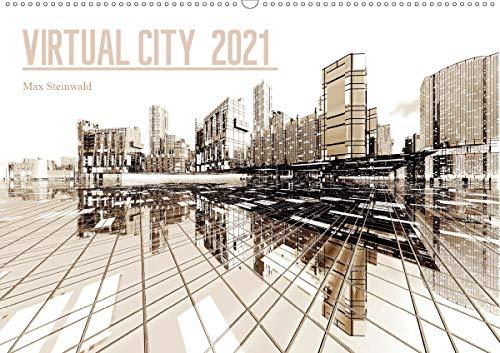 VIRTUAL CITY 2021 CH-Version (Wandkalender 2021 DIN A2 quer)