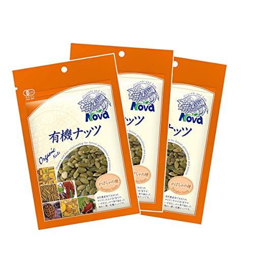 NOVA 有機ナッツ かぼちゃの種 70g 3袋