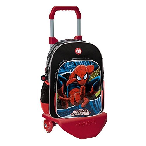 Marvel-Sac à dos avec chariot Spiderman